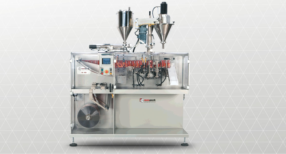 Horizontal and vertical 3-rim and 4-rim sealing bag machines, stick pack machines, standing bag machines, tube bag machines. Special applications: Zip facilities, resealable pouring facilities.
